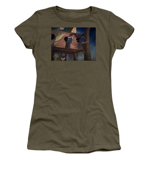Birds Resting Women's T-Shirt