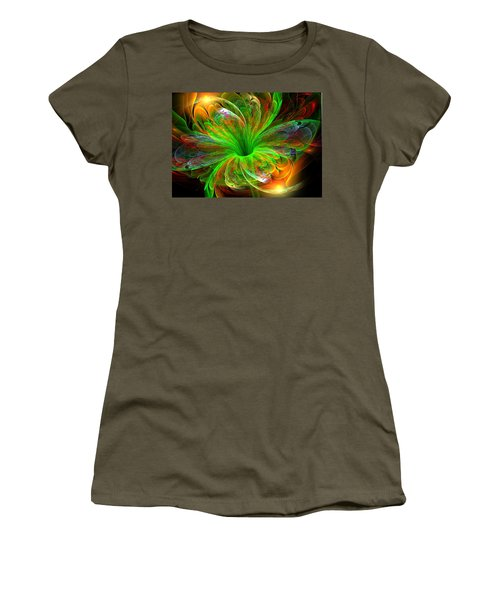 Birst Of Spring Women's T-Shirt (Athletic Fit)