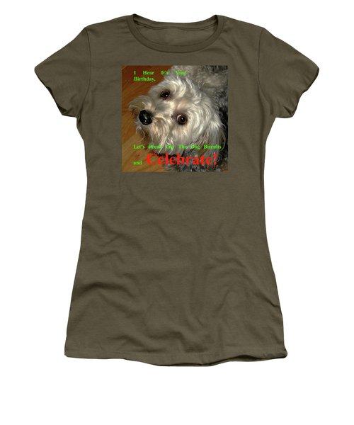 Birthday Women's T-Shirt (Junior Cut) by Dale Ford