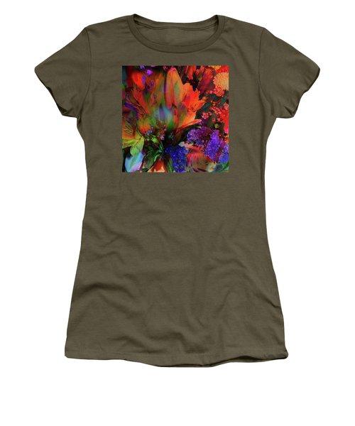 Birthday Flowers Women's T-Shirt