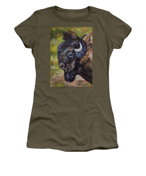 Bison Study 5 Women's T-Shirt