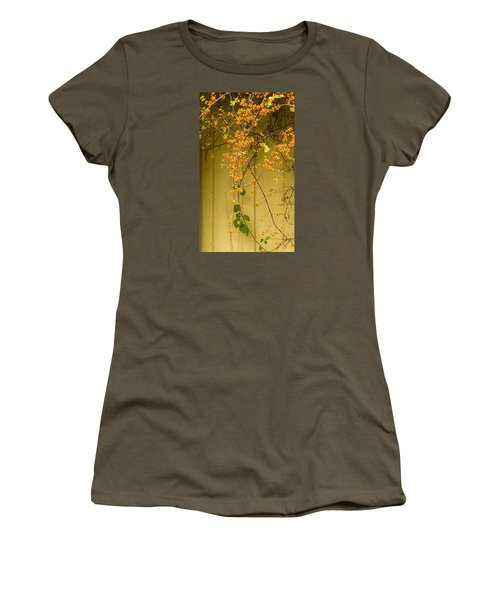 Bittersweet Vine Women's T-Shirt (Junior Cut) by Tom Singleton