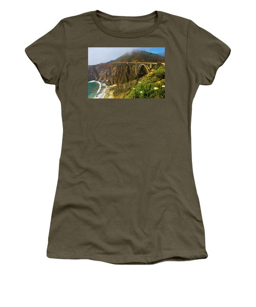 Bixby Bridge Big Sur Women's T-Shirt