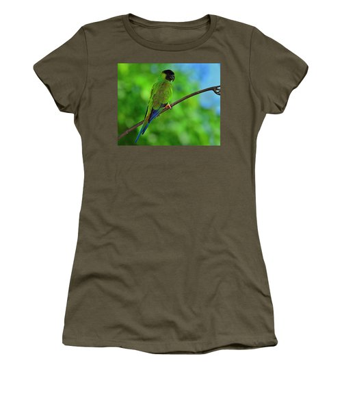 Women's T-Shirt (Junior Cut) featuring the photograph Black And Blue by Tony Beck