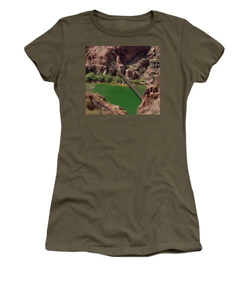 Black Bridge, Grand Canyon  Women's T-Shirt