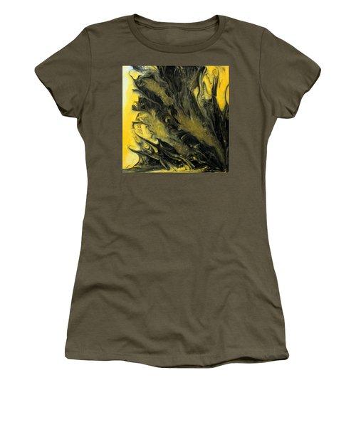 Black Dahlia Women's T-Shirt (Junior Cut) by Mary Kay Holladay