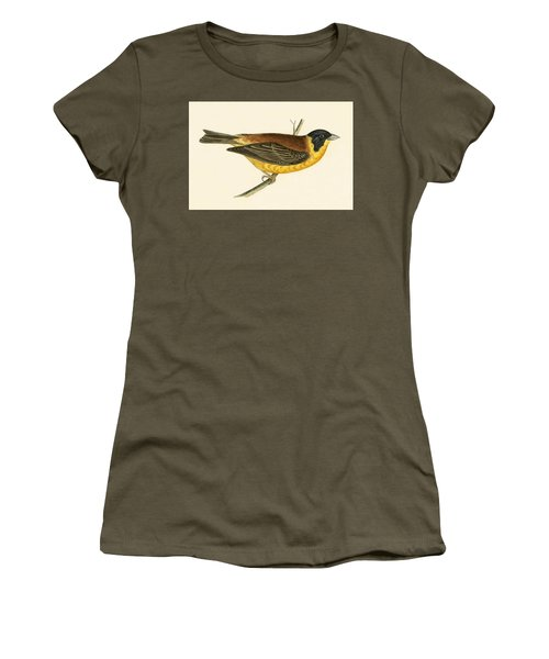Black Headed Bunting Women's T-Shirt (Athletic Fit)