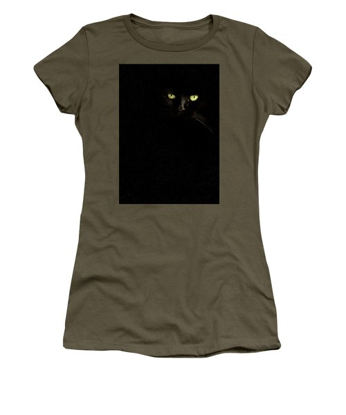 Black On Black Women's T-Shirt