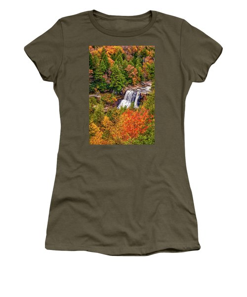 Blackwater Falls Wv Women's T-Shirt