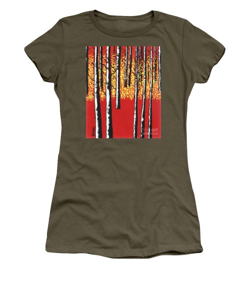 Blazing Birches Women's T-Shirt