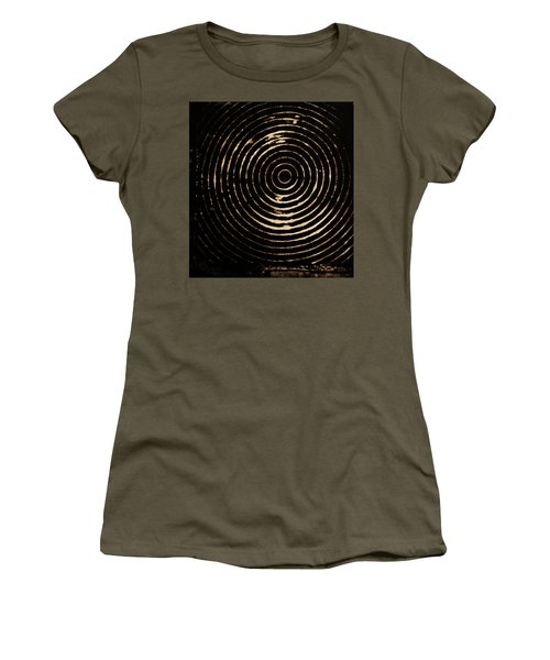 Bleached Circles Women's T-Shirt (Athletic Fit)