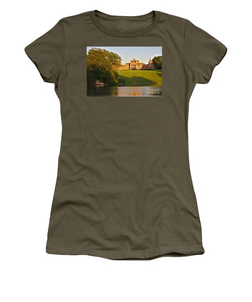 Blenheim Palace And Lake Women's T-Shirt