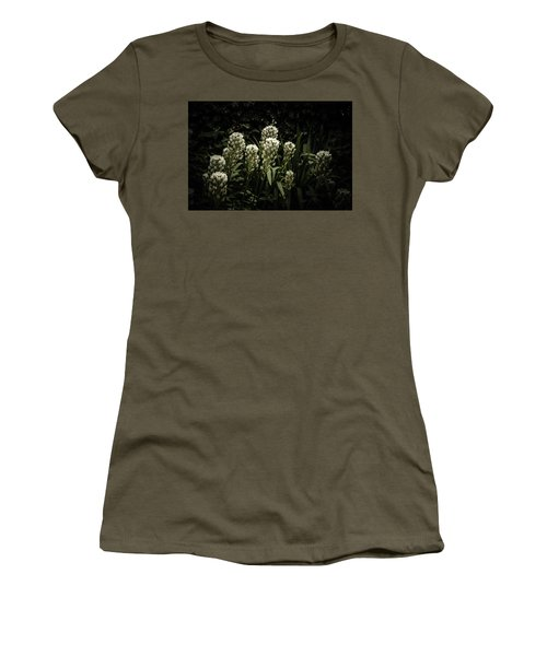 Women's T-Shirt (Junior Cut) featuring the photograph Blooming In The Shadows by Marco Oliveira