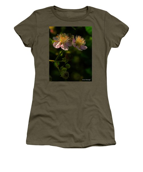 Blossoms 3 Women's T-Shirt (Athletic Fit)