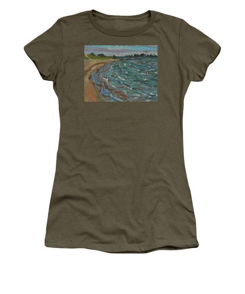 Blown Away Southampton Beach Women's T-Shirt (Athletic Fit)