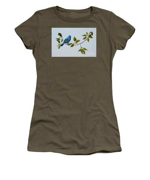 Blue Grosbeak Women's T-Shirt
