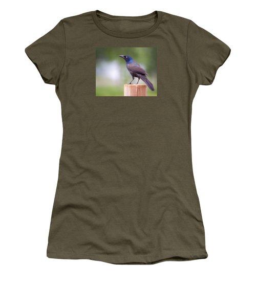 Blue Head Women's T-Shirt (Athletic Fit)