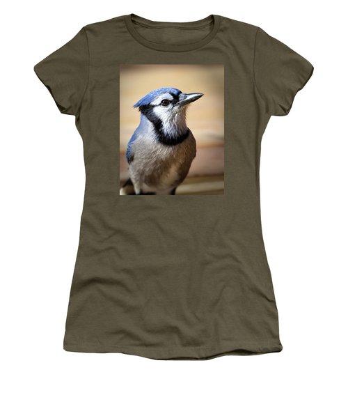 Blue Jay Portrait Women's T-Shirt