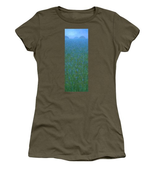 Blue Meadow 1 Women's T-Shirt