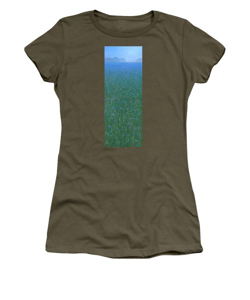 Blue Meadow 2 Women's T-Shirt