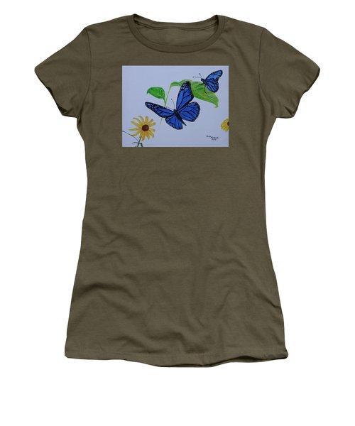 Blue Monarch Women's T-Shirt