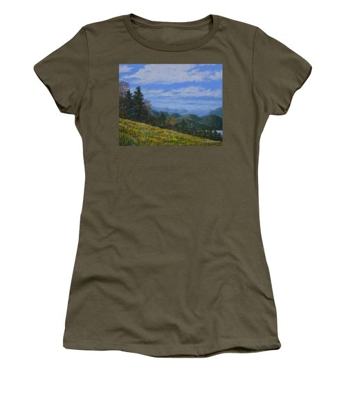 Blue Ridge Impression Women's T-Shirt (Athletic Fit)