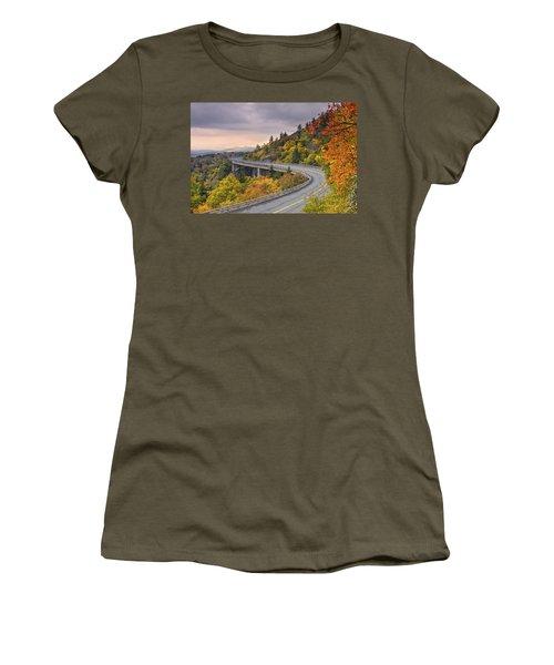 Lynn Cove Viaduct-blue Ridge Parkway  Women's T-Shirt
