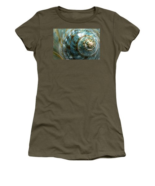 Blue Seashell Women's T-Shirt