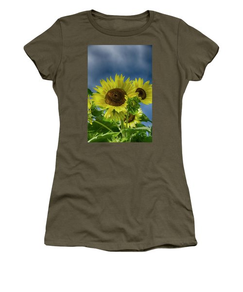 Blue Sky Day Women's T-Shirt (Athletic Fit)