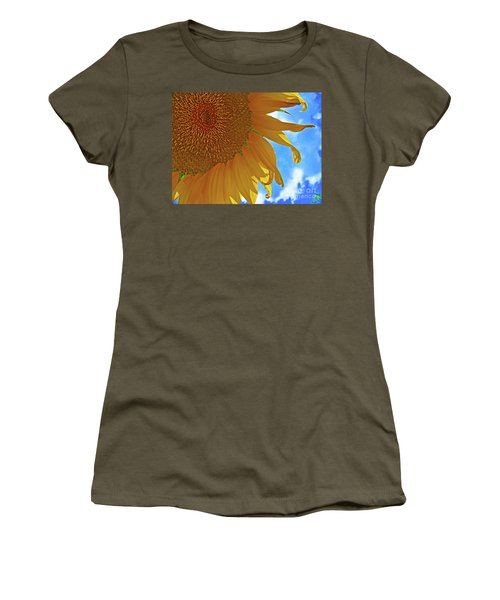 Blue Sky Sunflower Women's T-Shirt