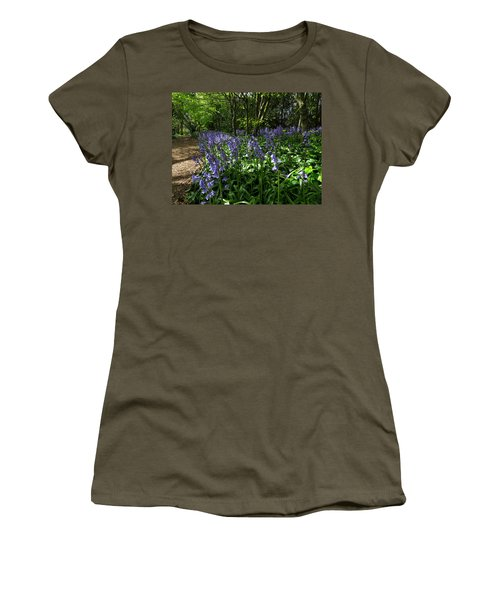 Bluebells4 Women's T-Shirt (Junior Cut) by John Topman