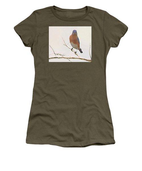 Bluebird Stare  Women's T-Shirt