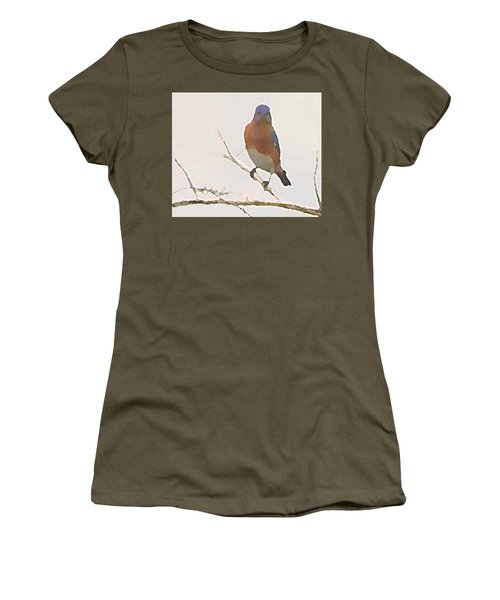 Bluebird Stare  Women's T-Shirt