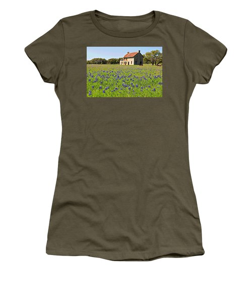 Bluebonnet Field Women's T-Shirt
