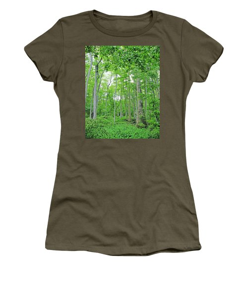 Blueboonet Swamp Baton Rouge La Women's T-Shirt (Athletic Fit)