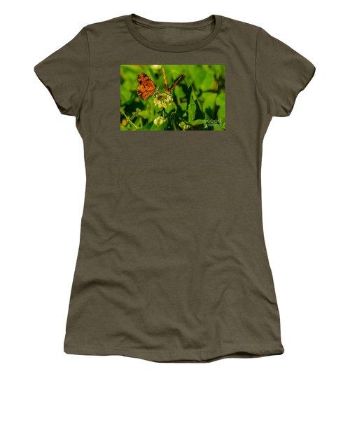 Bluehead Butterfly Women's T-Shirt