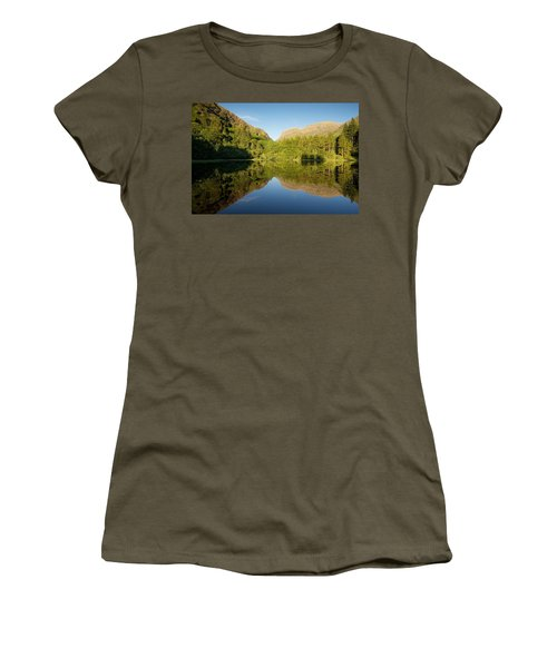 Blues Skies In Glencoe Women's T-Shirt (Athletic Fit)