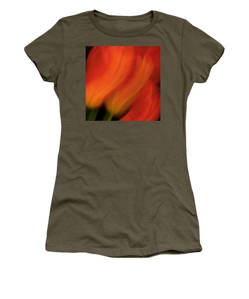 Blur De Lis Women's T-Shirt