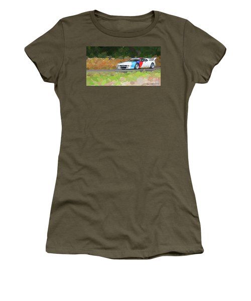 Bmw M1 Women's T-Shirt (Athletic Fit)