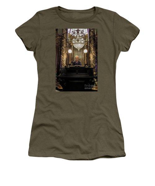 Women's T-Shirt featuring the photograph Bogrod The Head Teller by Gary Keesler