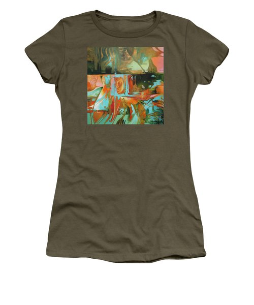 Bohemian Mix Women's T-Shirt (Athletic Fit)