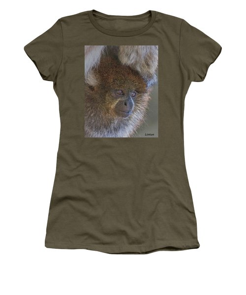 Bolivian Grey Titi Monkey Women's T-Shirt (Athletic Fit)