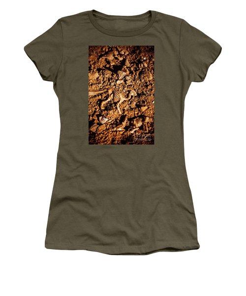 Bones From Ancient Times Women's T-Shirt