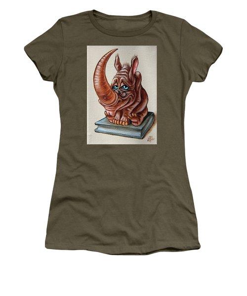 Bookworm Women's T-Shirt (Athletic Fit)
