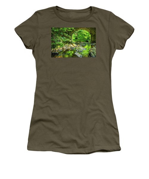 Boola Bridge  Women's T-Shirt (Athletic Fit)