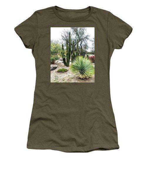 Borrego Botanical Garden Women's T-Shirt (Junior Cut) by Daniel Hebard