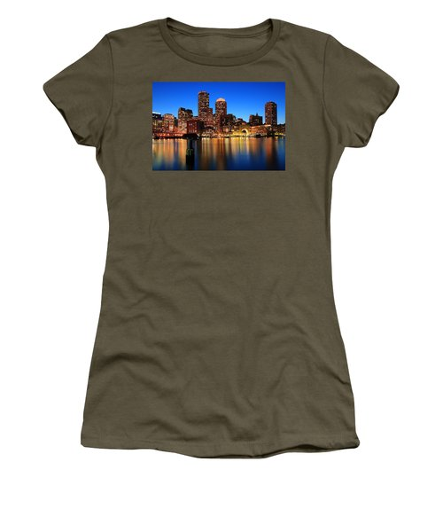 Boston Aglow Women's T-Shirt