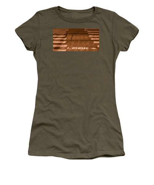 Both Ways - Urban Abstracts Women's T-Shirt