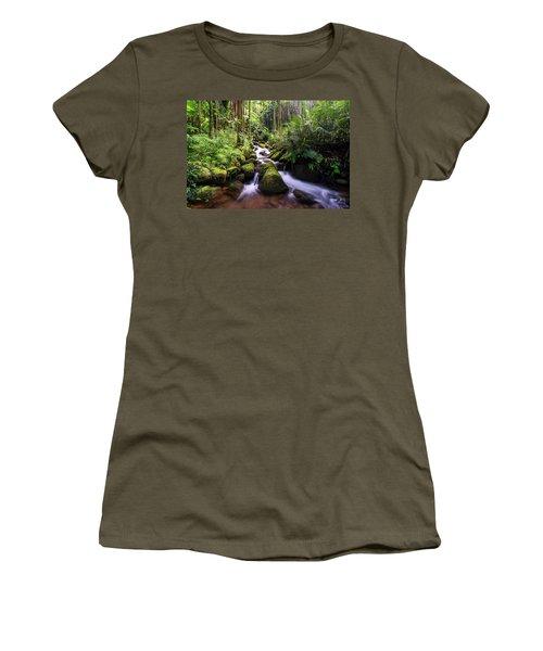 Boulder Creek Falls Women's T-Shirt
