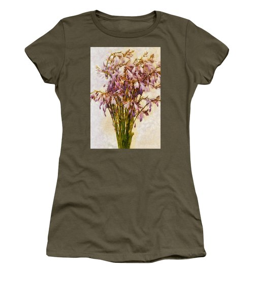 Bouquet Of Hostas Women's T-Shirt (Athletic Fit)